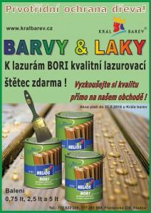Prvotřídní ochrana dřeva + štětec zdarma!
